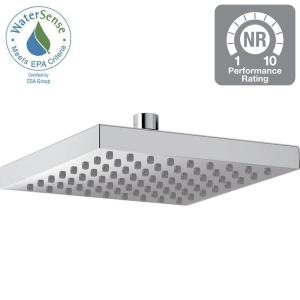 Delta 1-Spray 8 inch Fixed Shower Head in Chrome by Delta