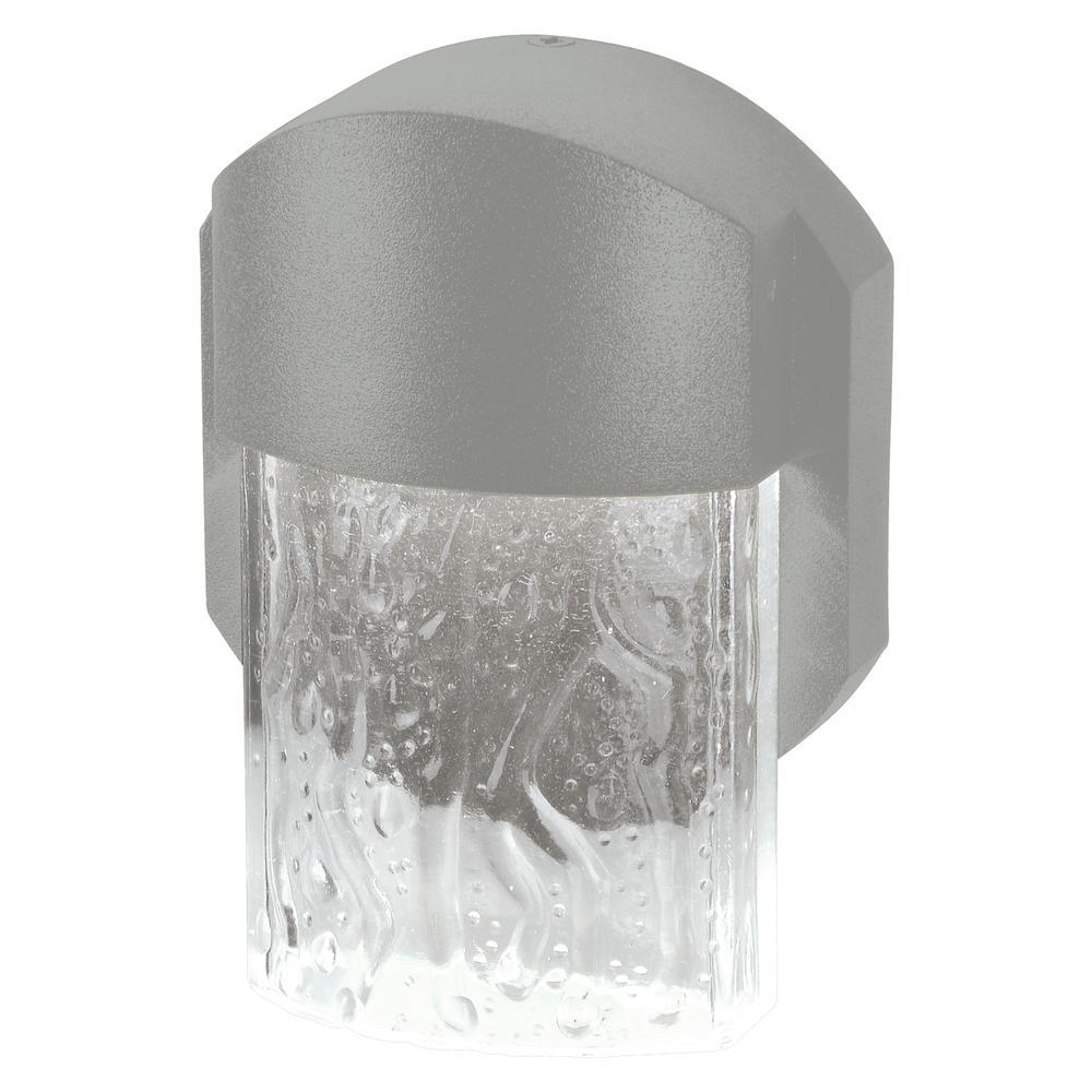 Mist Medium 1-Light Satin LED Outdoor Wall Mount Sconce