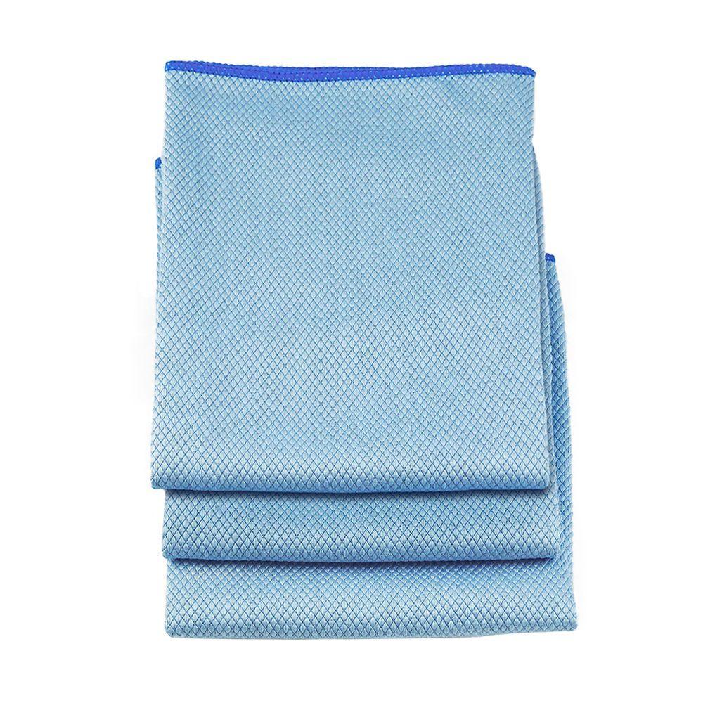18 in. Large Microfiber Towels (3-Pack)
