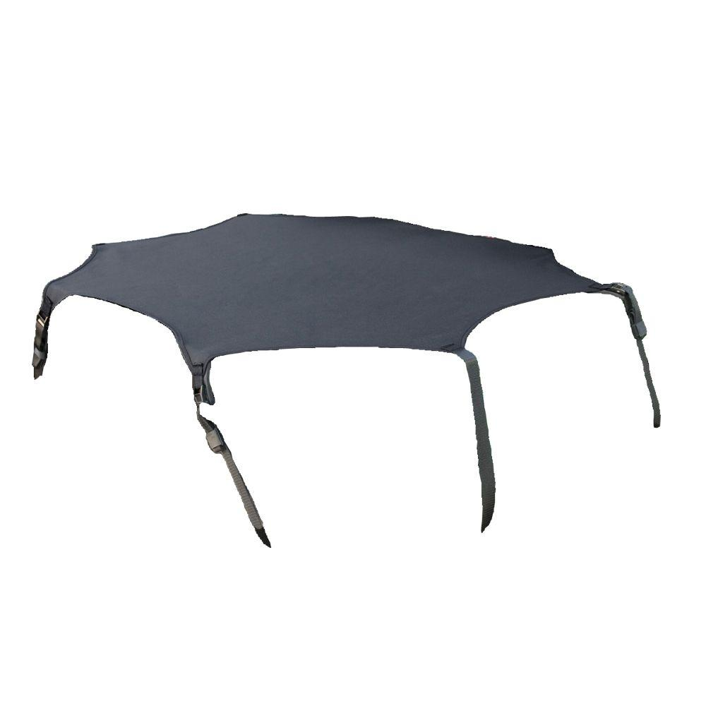 QuadGear Black Cargo Cover for UTV Beds-DISCONTINUED
