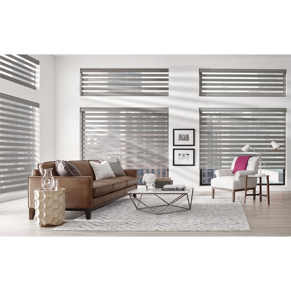 Kirsch Installed Banded Shades