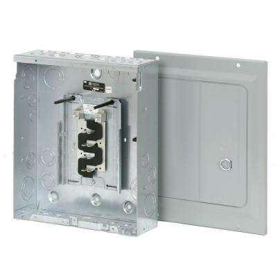 BR 125 Amp 8-Space 16-Circuit Outdoor Main Lug Loadcenter with Surface Door