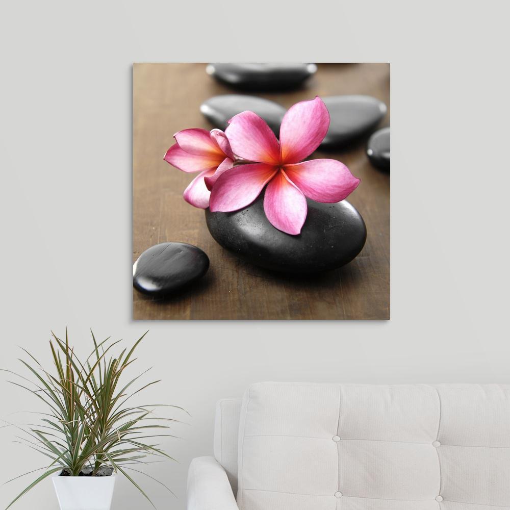 Greatbigcanvas Zen Pebbles By Photoinc Studio Canvas Wall Art