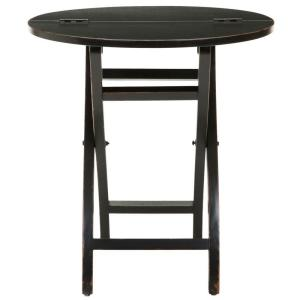reputable site 489d7 dd63a Ethan Black Foldable Side Table