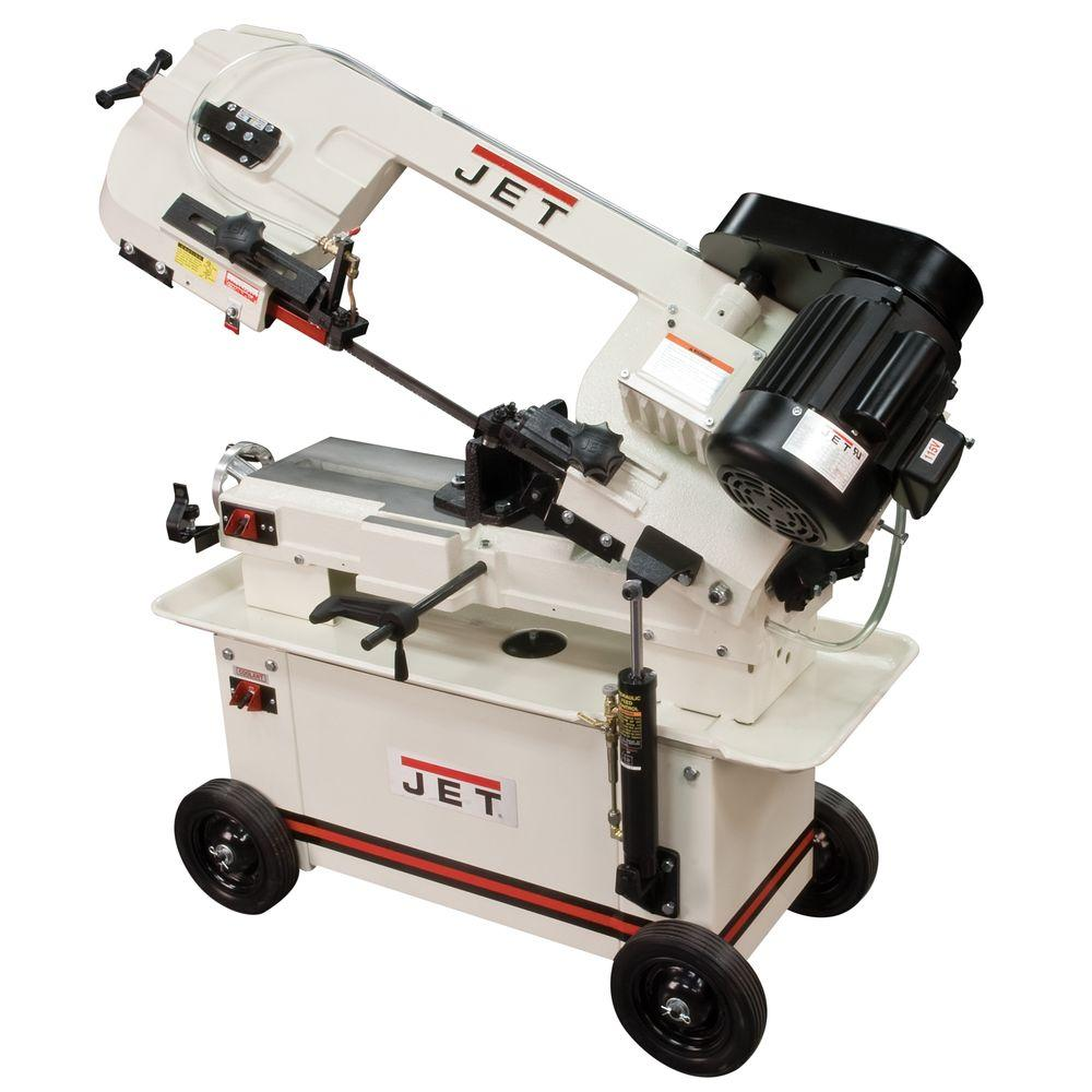 JET 7 in. x 12 in. Horizontal/Vertical Metalworking Band Saw with Coolant System