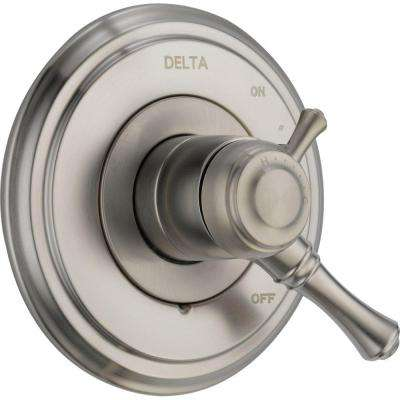 Cassidy 1-Handle Volume/Temperature Control Valve Trim Kit in Stainless (Valve Not Included)