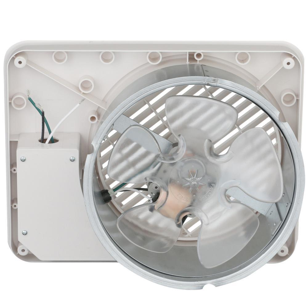 ThruWall Exhaust Fan 7-5//8 in.Transfer Fan Room Air Ventillator