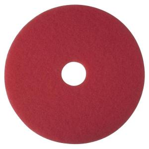 3M 16 inch Red Buffer Pads (5 Per Carton) by 3M