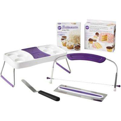 Icing for Beginners Set withCake Decorating Kit