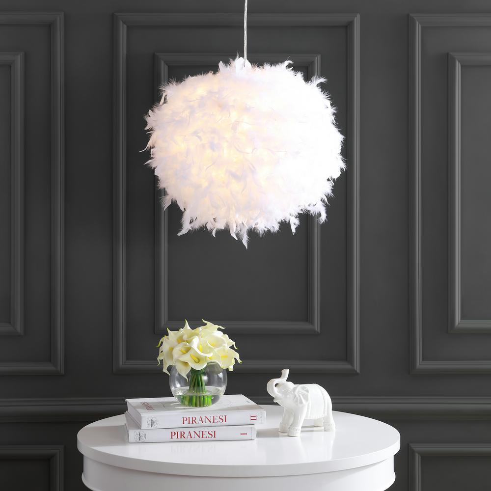 Light Fixture - Pendant Feather Lamp
