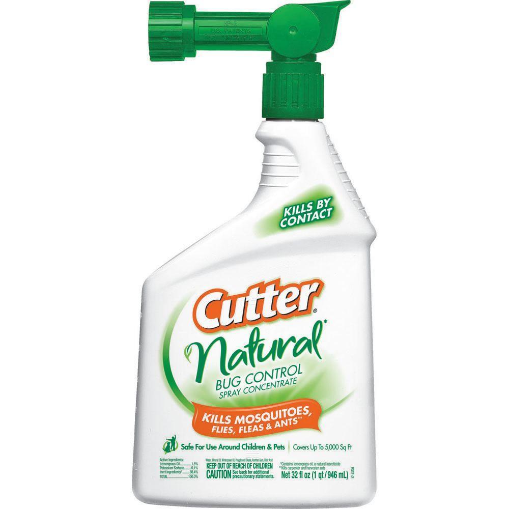 Cutter 32 fl  oz  Concentrate Backyard Bug Control Spray-HG-61067-6