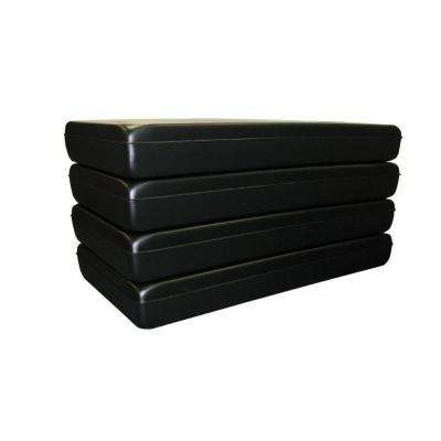 8 ft. x 4 ft. x 20 in. 4-Pack Dock Float Drum Distributed by Tommy Docks