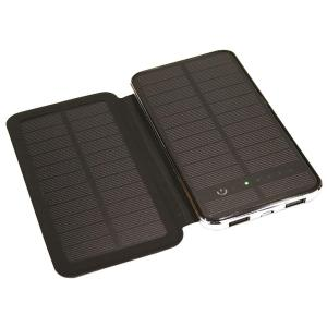 The Solis 10,000 mAh Solar Battery Charger and Powerbank with Extra 2.5W Panel by