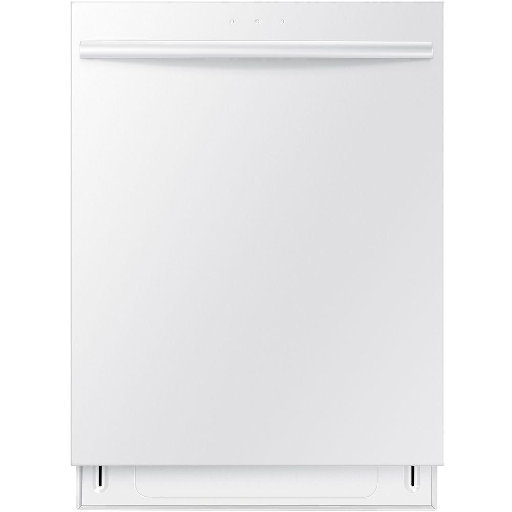 Samsung Top Control Dishwasher in White with Stainless Steel Tub