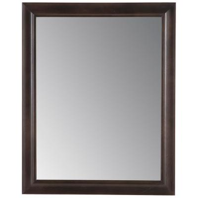 Candlesby 22 in. x 27 in. Framed Wall Mirror in Pewter