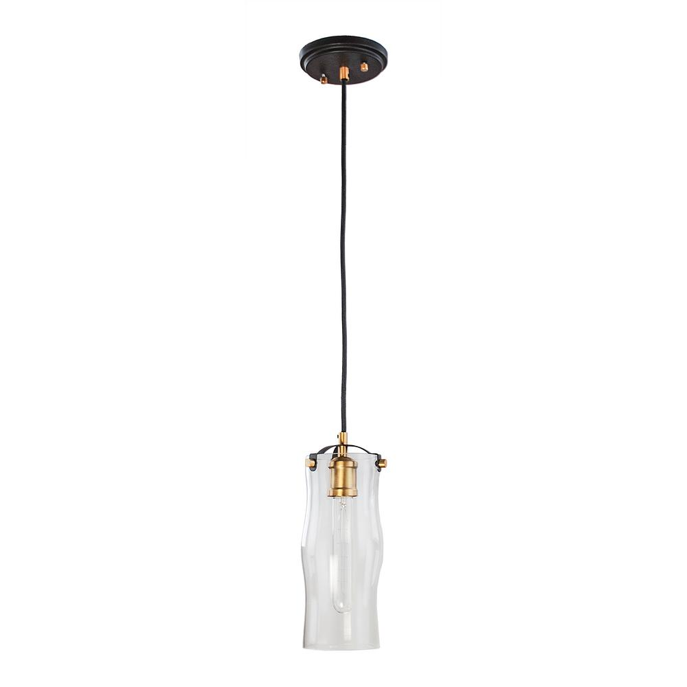 Home Decorators Collection 1-Light Bronze With Natural
