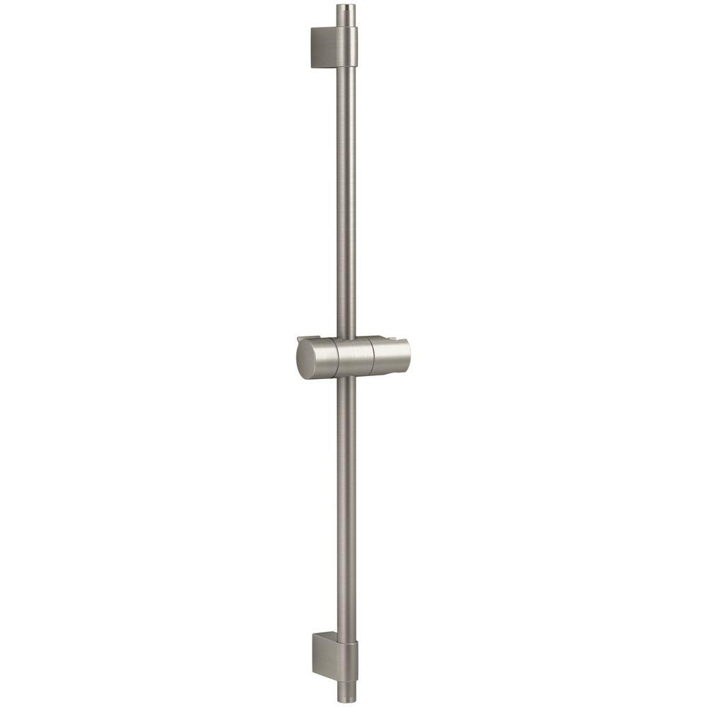Awaken 1-Spray Single Function Wall Bar Shower Kit in Vibrant Brushed