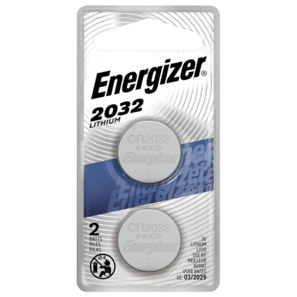 Energizer 2032 3-Volt Battery (2-Pack)
