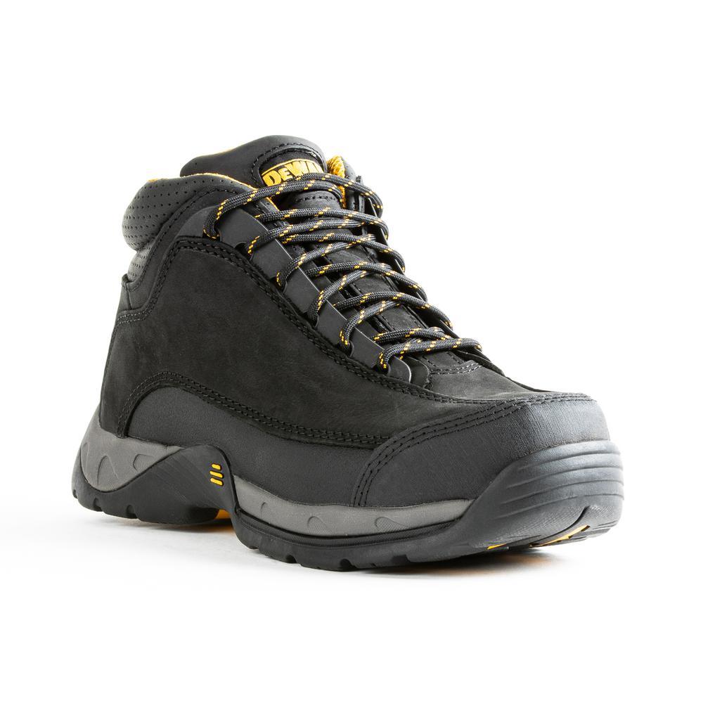 Men's Baltimore 6 in. Work Boots - Steel Toe - Black (9)M