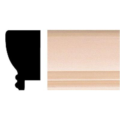 7/8 in. x 1-1/2 in. x 96 in. Hardwood Picture Frame Moulding