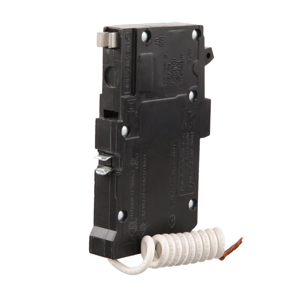 SQUARE D Type QO AFCI Circuit Breaker Single Pole 20 Amp QO120PCAFI