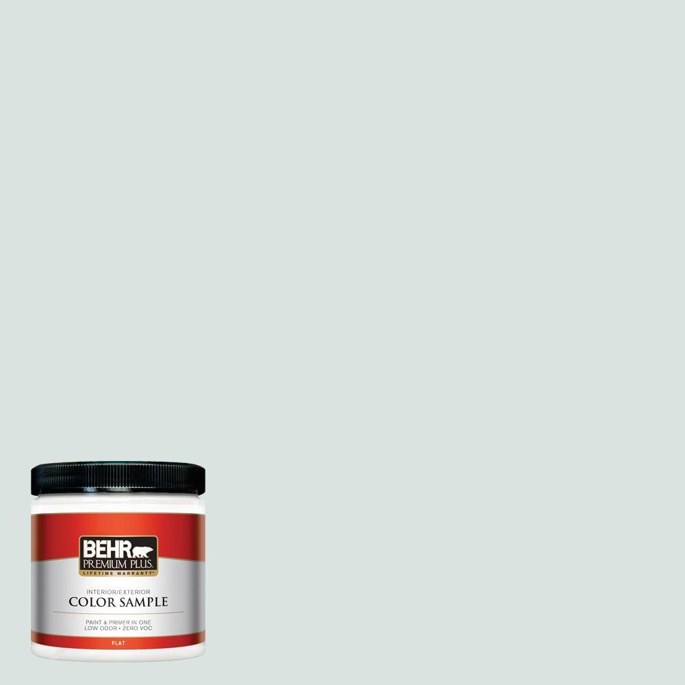 N430 1 Mountain Peak White Flat Interior Exterior Paint And Primer In One Sample