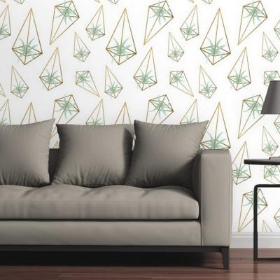 You Had Me At Aloe by Circle Art Group Removable Wallpaper Panel