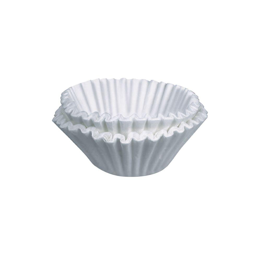 1000-Count Home Coffee Filters Bunn Commercial Coffee Brewer Filters are compatible with 10- and 12-cup Bunn coffee brewers. This economy-size package of 1,000 Bunn coffee filters means that you won't be running out of filters for quite a while. Enjoy your favorite blend with Bunn Coffee Commercial Brewer Filters.