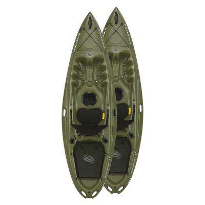 Renegade Emotion 10 ft. Sit on Top Kayaks in Olive Green
