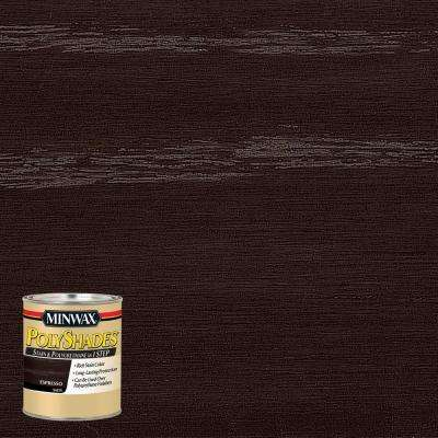 8 oz. PolyShades Espresso Satin 1-Step Stain and Polyurethane (4-Pack)