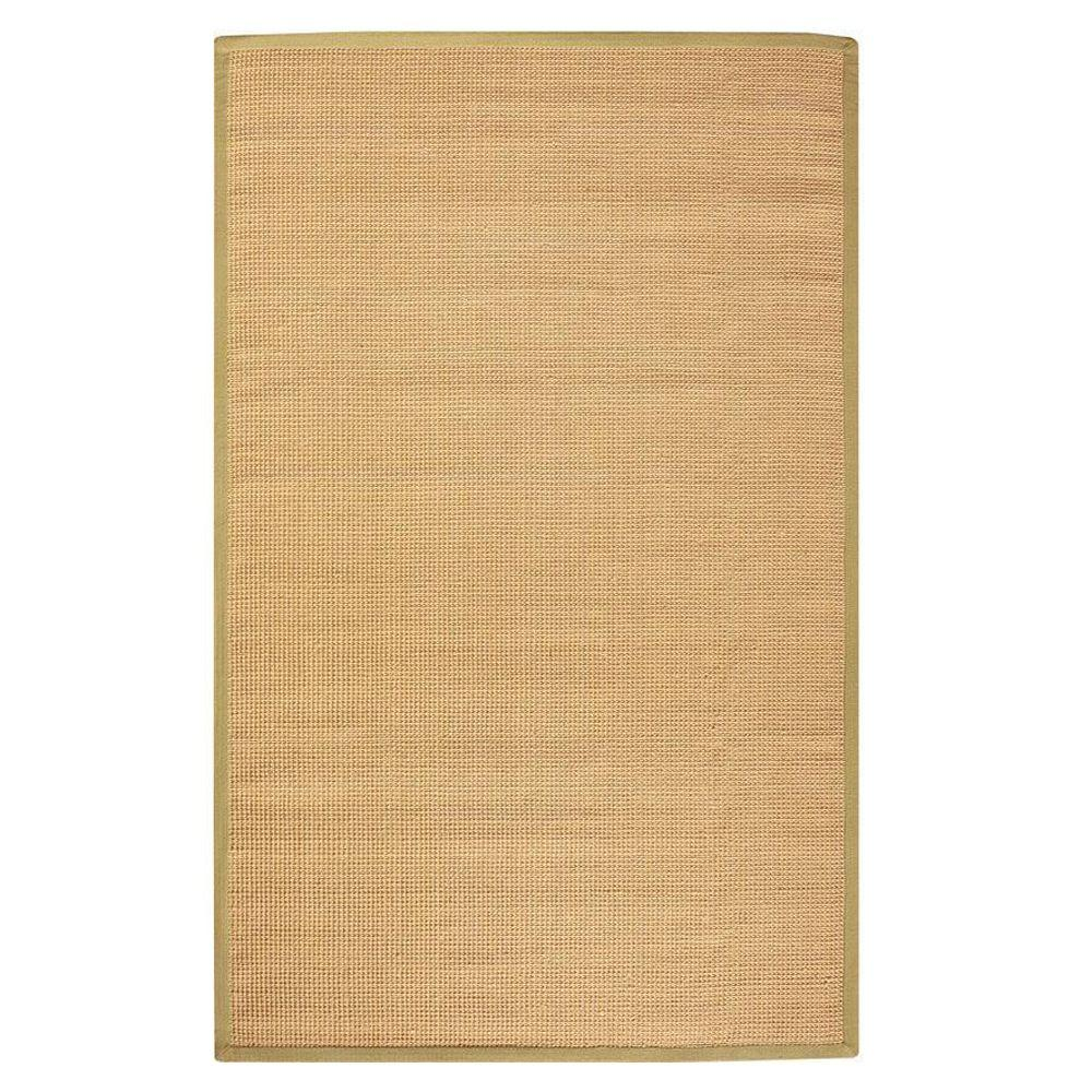 Home Decorators Collection Woolen Jute Dark Natural 4 Ft X 6 Area Rug 0350610820 The Depot