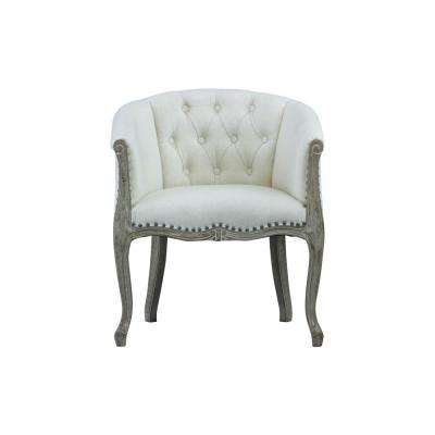 Jocelyn Upholstered Beige Occasional Chair