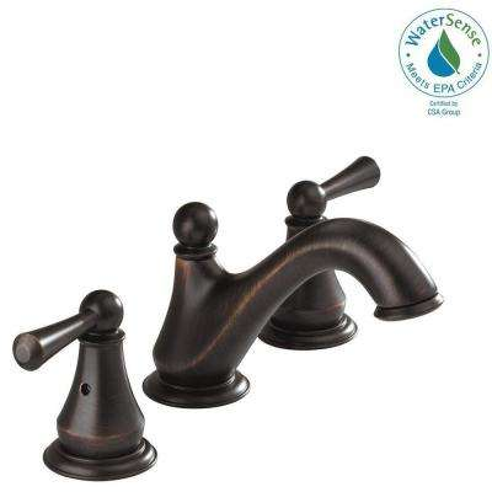 Haywood 8 in. Widespread 2-Handle Bathroom Faucet in Venetian Bronze