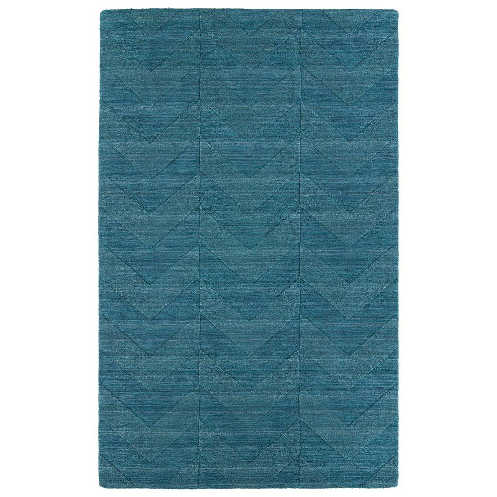 Kaleen Imprints Modern Turquoise 8 ft. x 11 ft. Area Rug