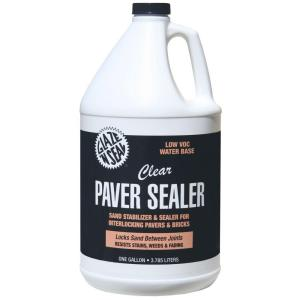 Glaze N Seal 1 Gal Clear Paver Sealer And Sand