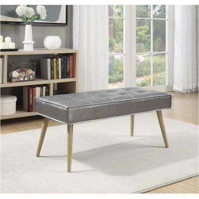 Amity Sizzle Pewter Bench