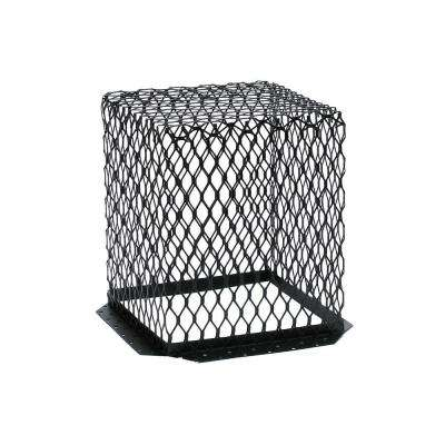 VentGuard 7 in. x 7 in. Roof Wildlife Exclusion Screen in Galvanized Black