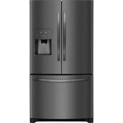 26.8 cu. ft. French Door Refrigerator in Black Stainless Steel