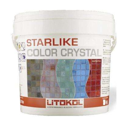 2.5 kg Starlike Color Crystal Glass Rosso Pompei/Red Grout