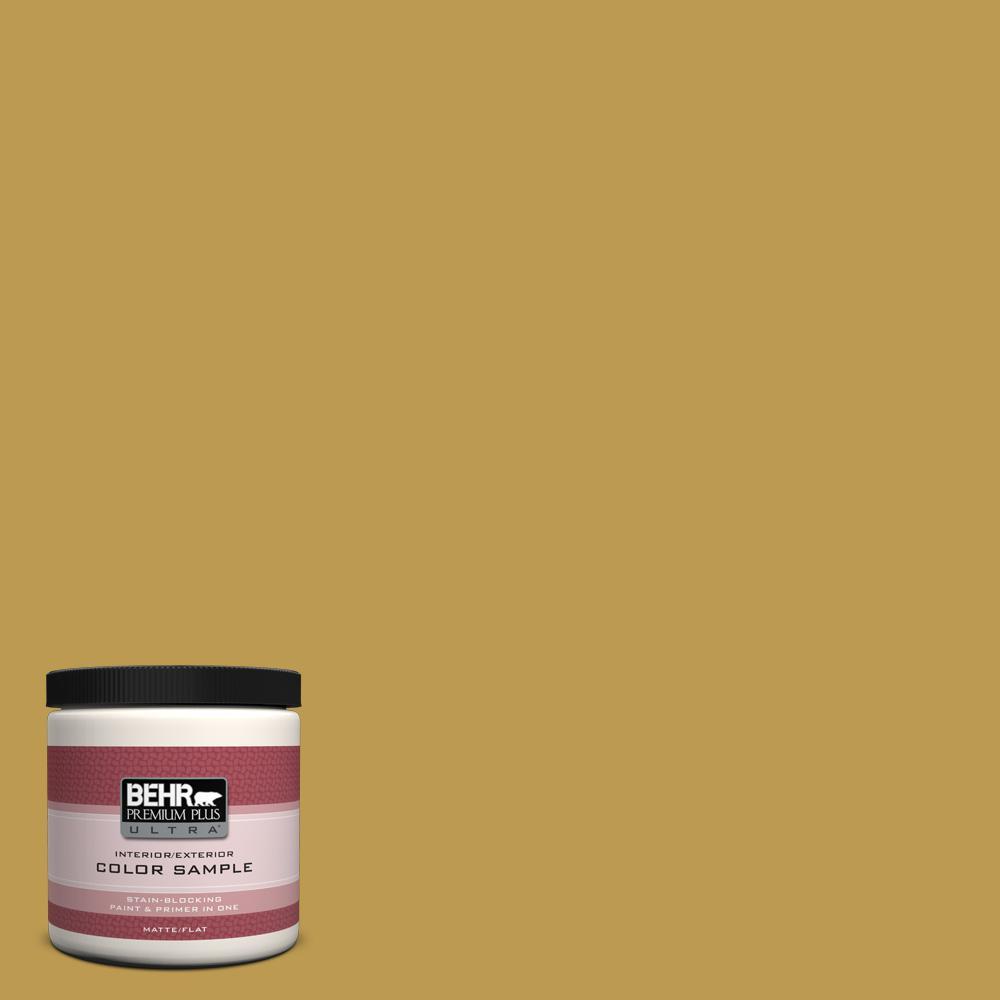 BEHR Premium Plus Ultra 8 oz. #M320-6 Tangy Green Interior/Exterior Paint Sample