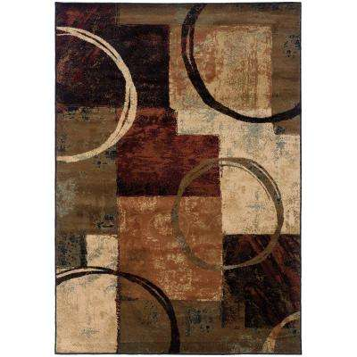Spin Desert 7 ft. 8 in. x 10 ft. 10 in. Area Rug