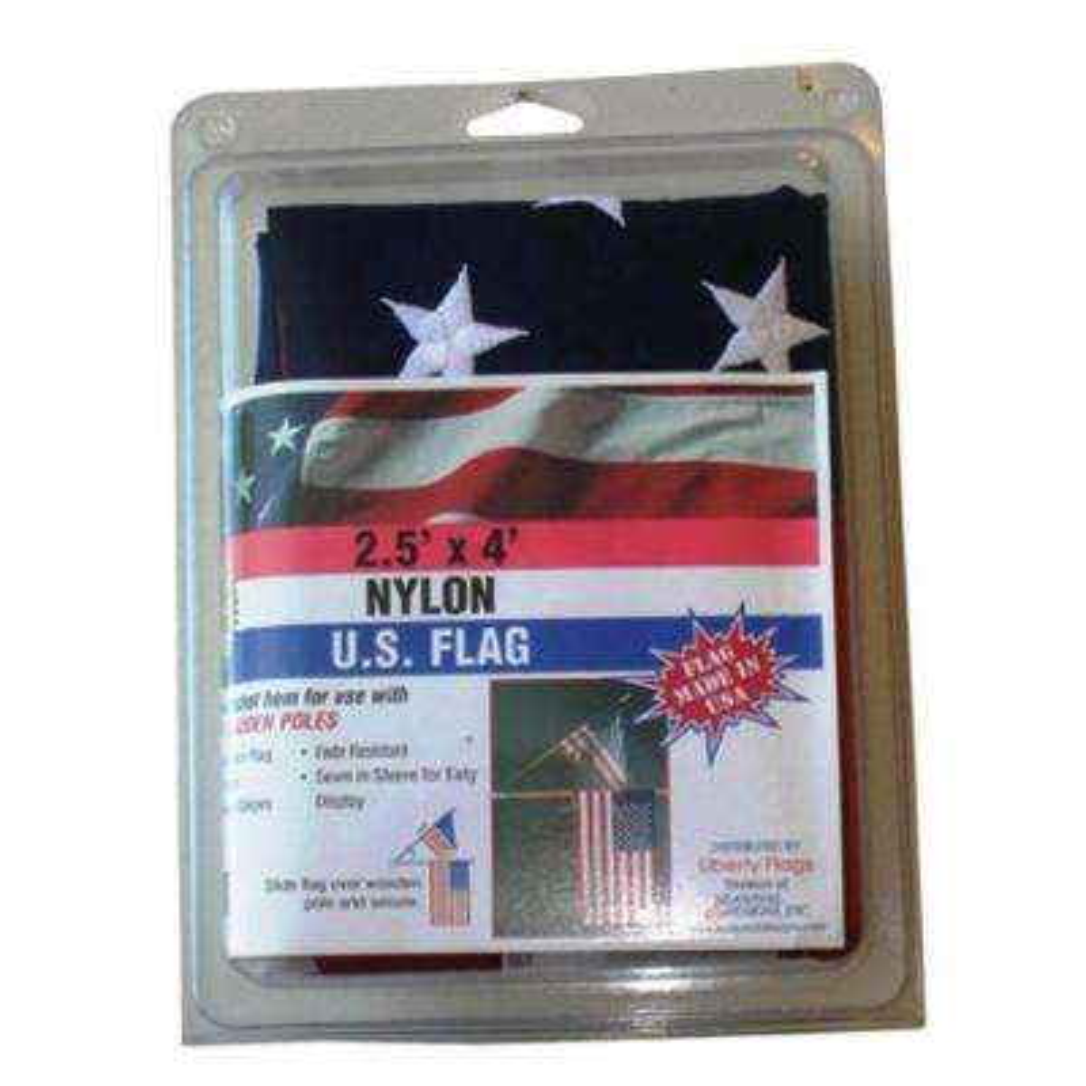 2-1/2 ft. x 4 ft. Nylon U.S. Flag