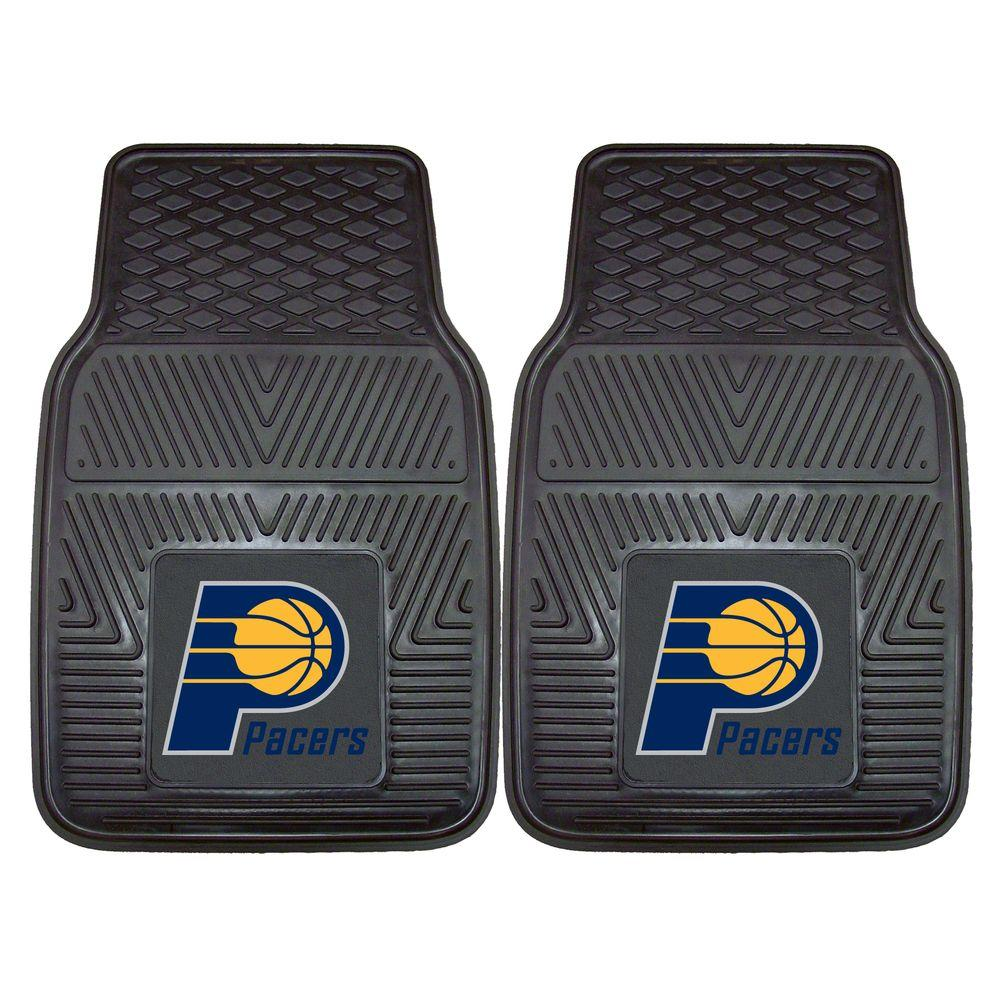 Fanmats Indiana Pacers 18 In X 27 In 2 Piece Heavy Duty