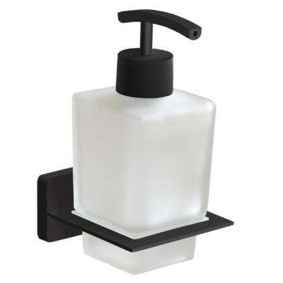 General Hotel Wall Mounted Soap Dispenser in Black Finish