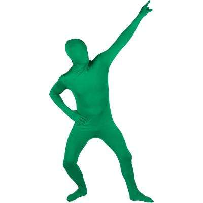 Adult Spandex Second Skin Full Bodysuit Halloween Costume (Green)