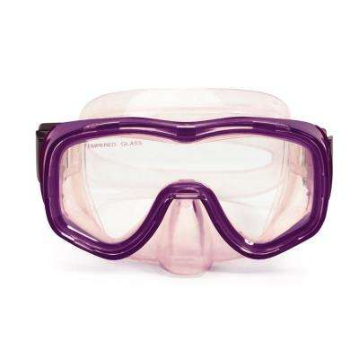 Reef Diver Purple Teen Scuba Swim Mask