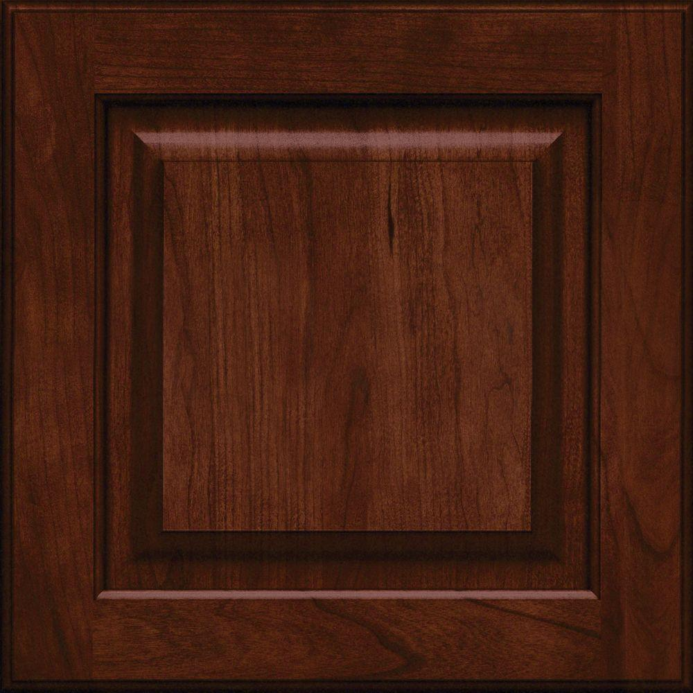 Kraftmaid 15x15 In Cabinet Door Sample In Piermont Cherry Square