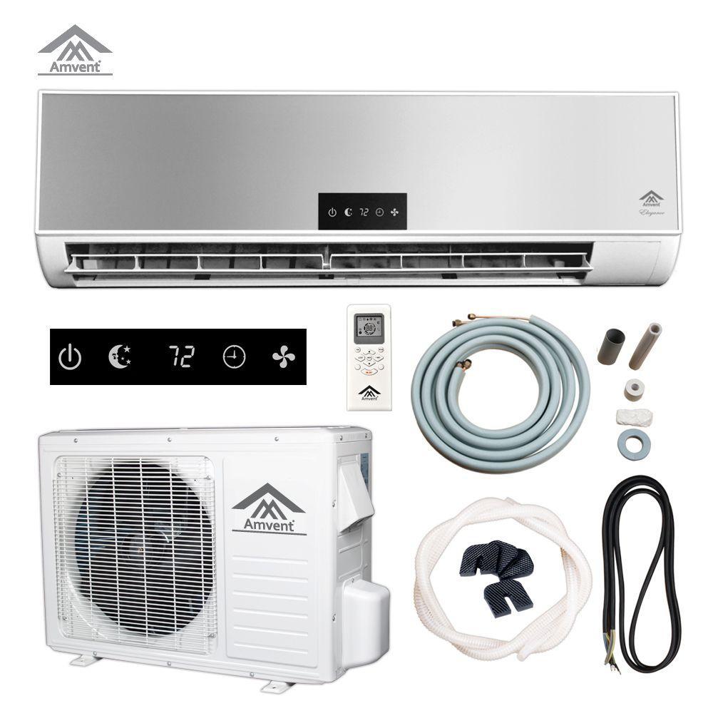 null Elegance 12,000 BTU (1 Ton) Ductless Mini Split Air Conditioner - 110-Volt/60Hz