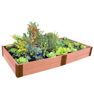 Two Inch Series 4 ft. x 8 ft. x 11 in. Clic Sienna Composite Raised Raised Bed Planters Home Depot on raised patio planters, backyard greenhouse home depot, planter boxes home depot, garden home depot, walkways home depot, fencing home depot, decking home depot, raised panel wainscoting home depot, patios home depot, cedar planks home depot,