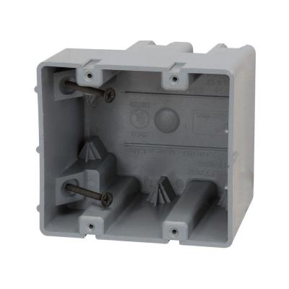 Smart Box 2-Gang Adjustable Depth Device Box